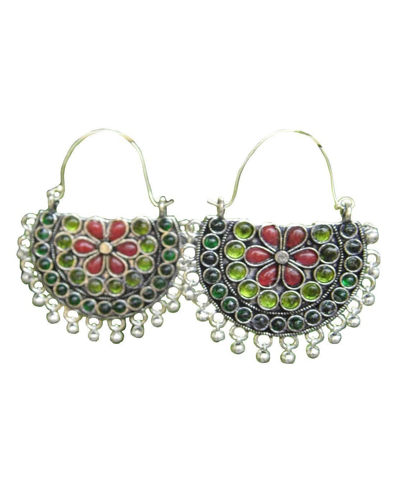 Afghani Earrings/Chandbalis In Alloy Metal 30