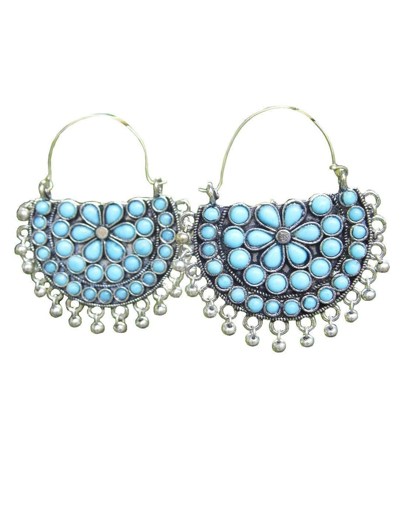 Afghani Earrings/Chandbalis In Alloy Metal 33