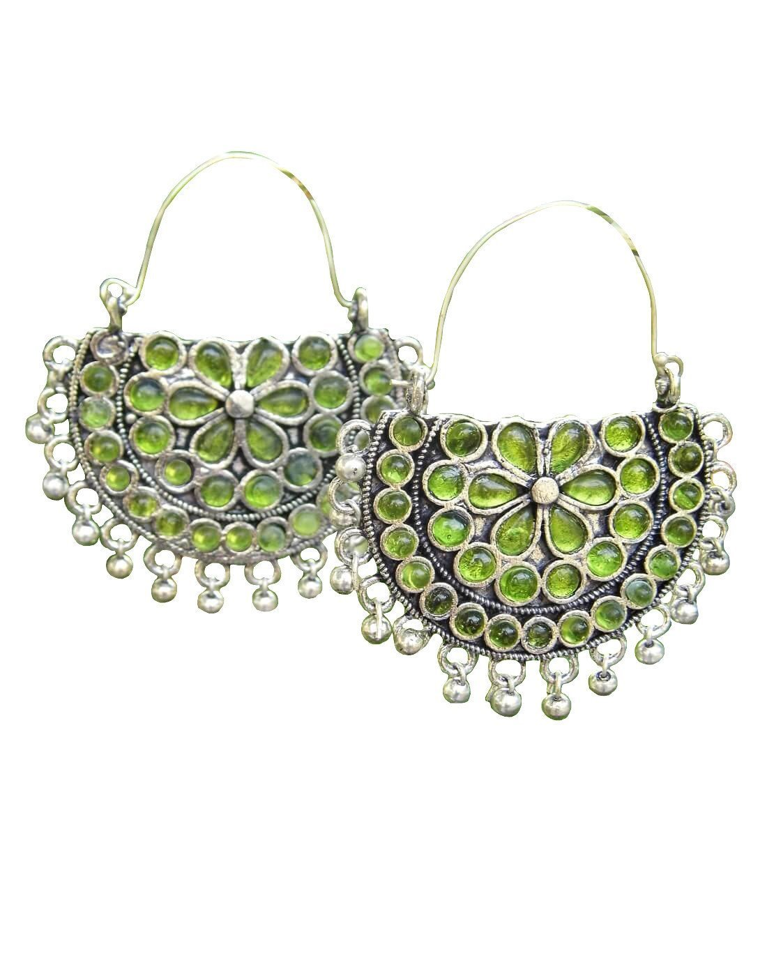 Afghani Earrings/Chandbalis In Alloy Metal 26