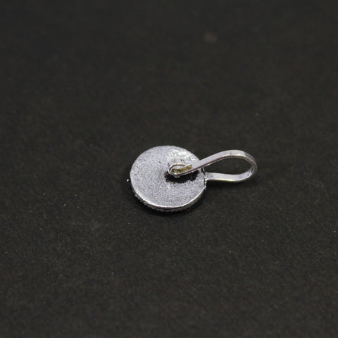 Oxidized German Silver Nose Pin for Women