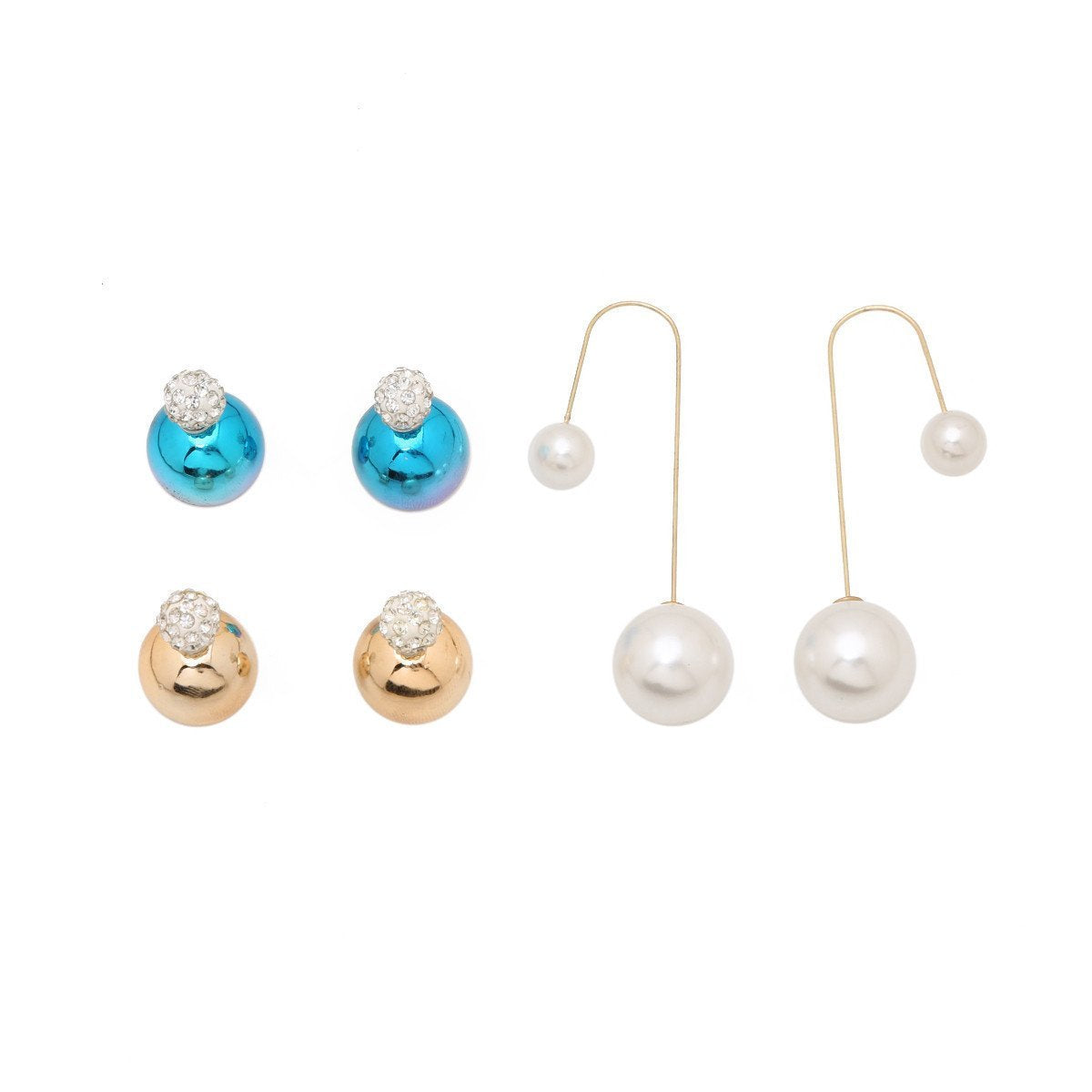 Double Trouble Earring Set