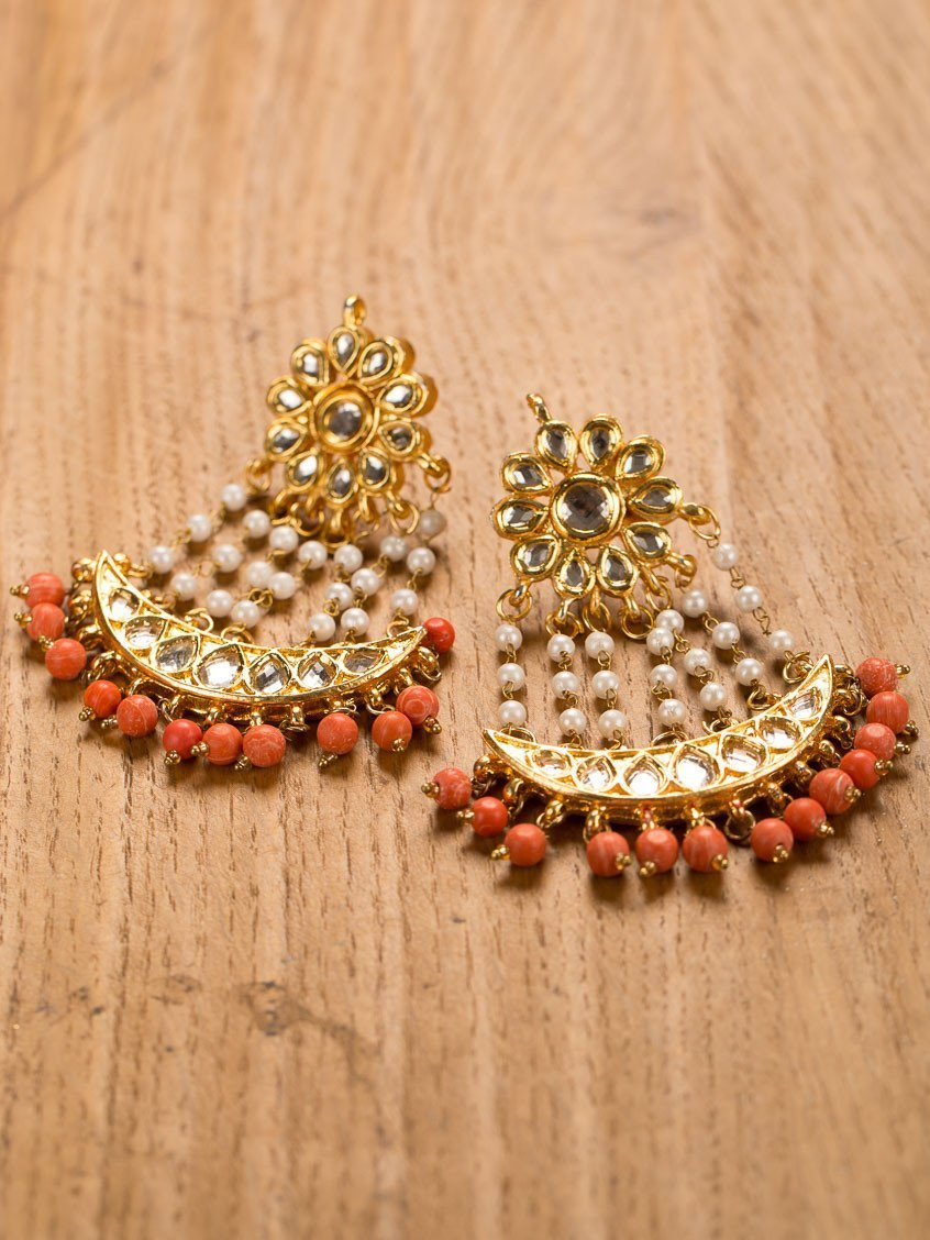 Gold Plated Passa Earrings