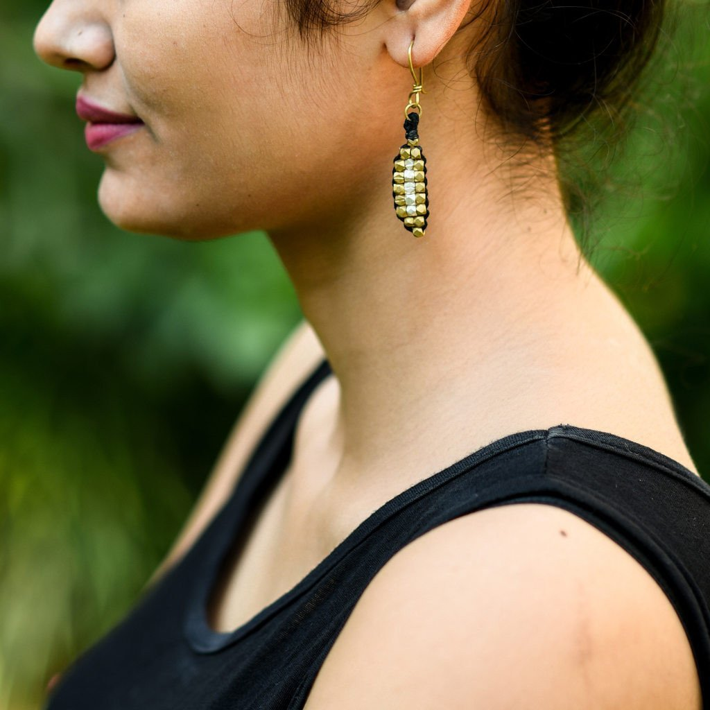 Dhokra Earring Surreal