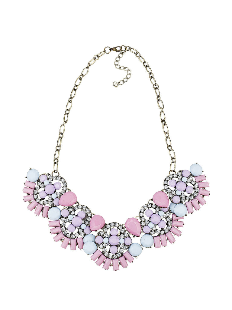 Rosette Sparkle Necklace