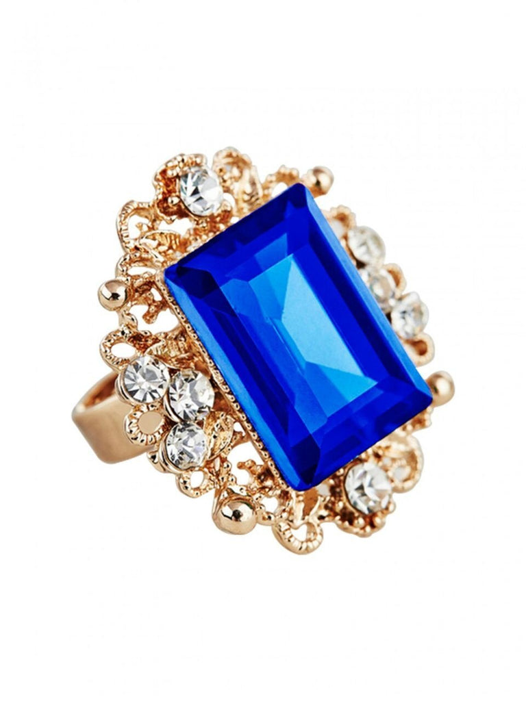 Dazzle Ring - Blue