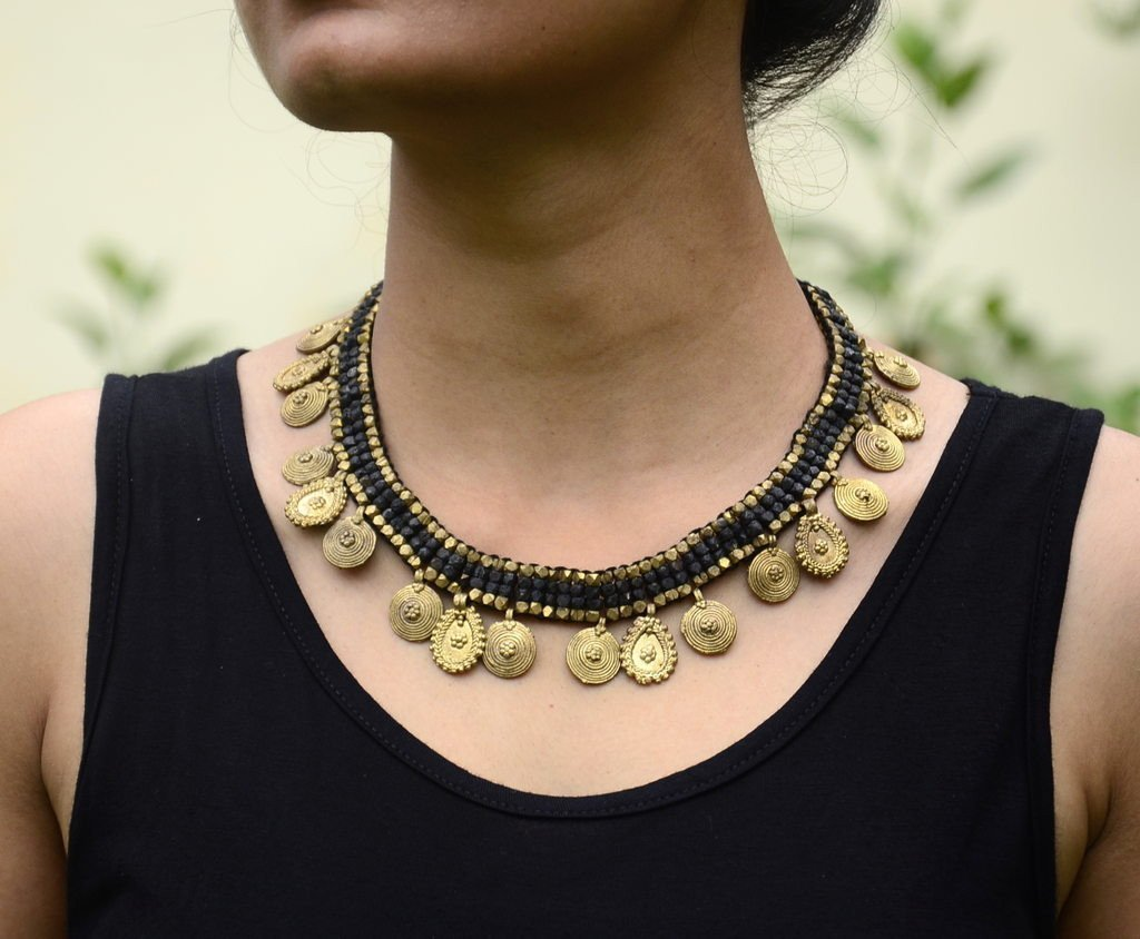 Dhokra Tribal Necklace Choker