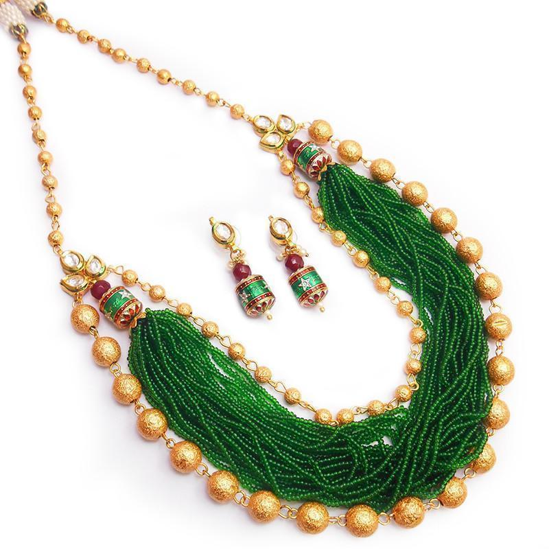 Ethinic Colored Maala Necklace