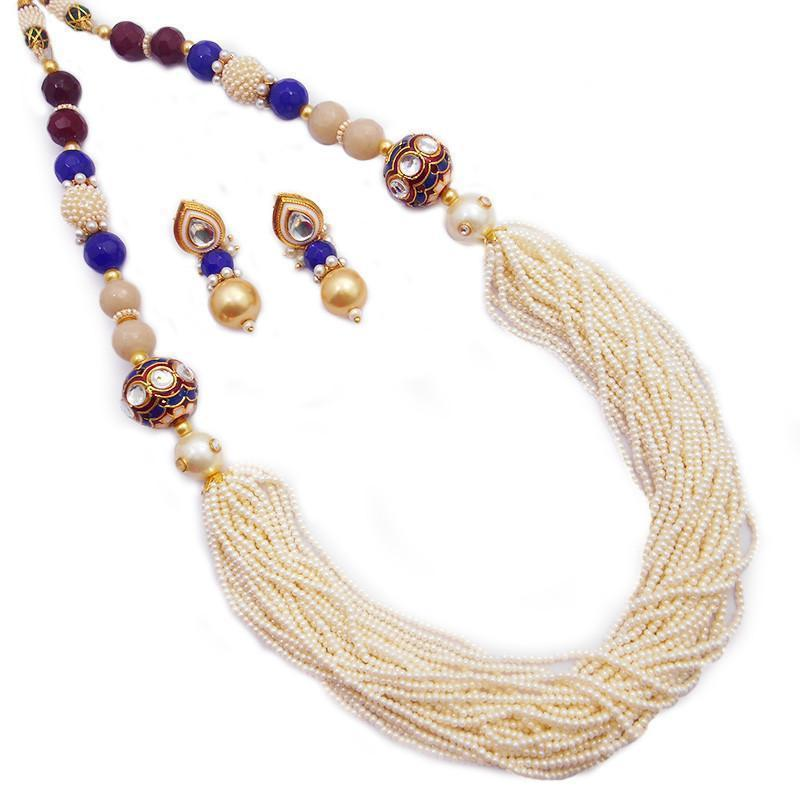 Elegant Chirr Maala Necklace