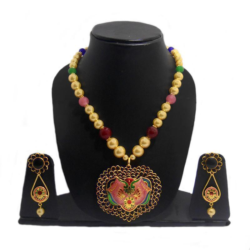 Exclusive Multicolour Pachi Necklace