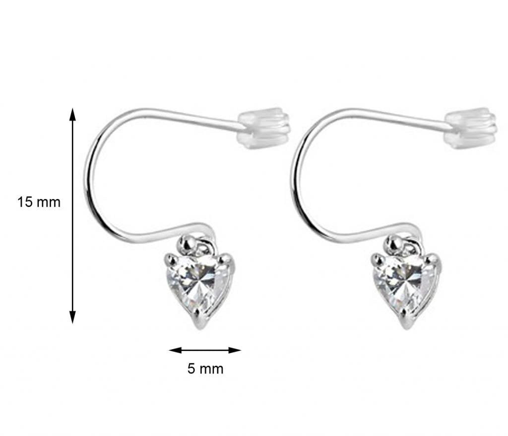 Heart Hook Earrings