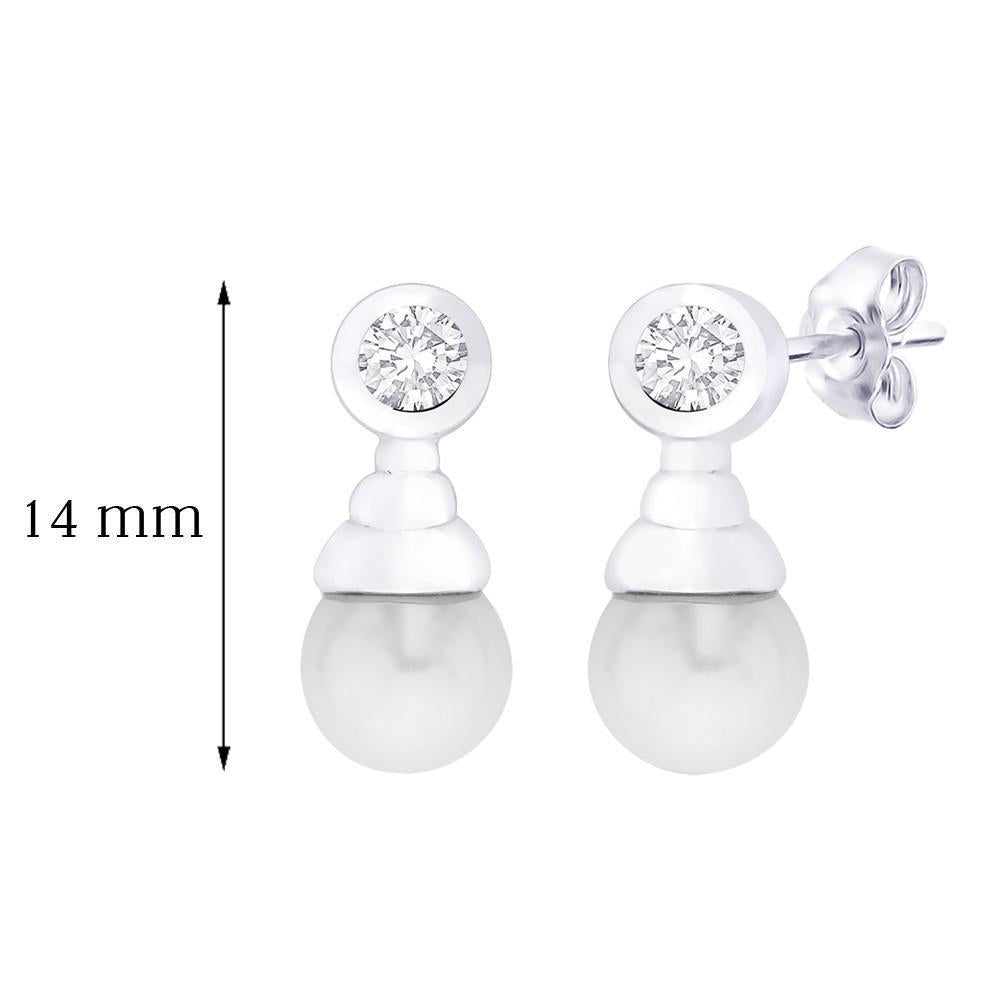 Classic Pearl Drop Earrings