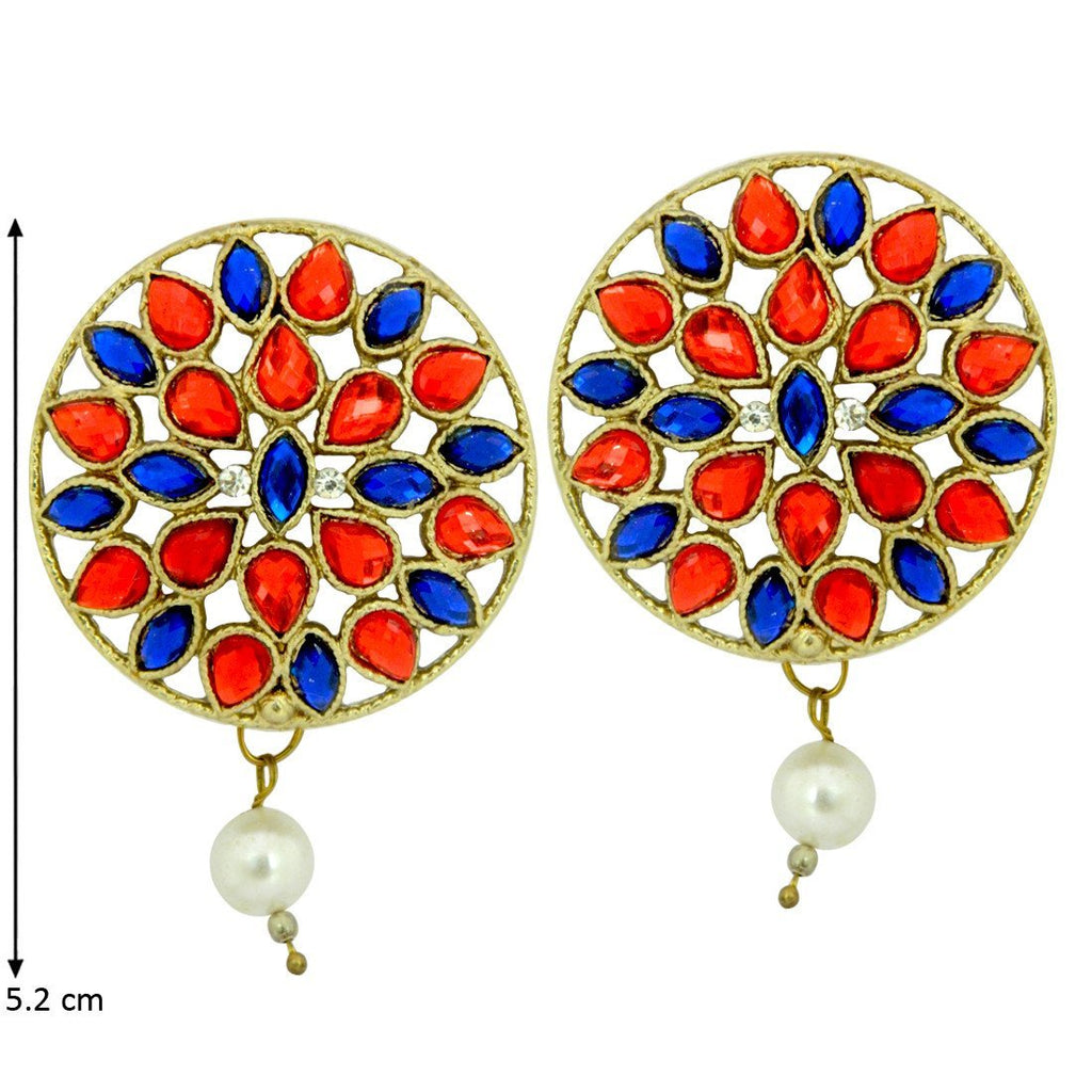Multi Color Round Danglers