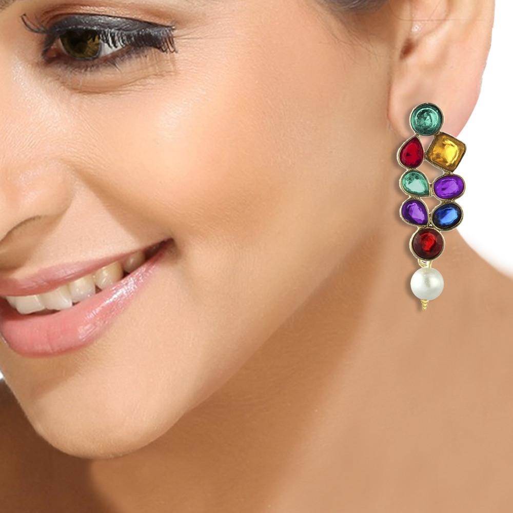 Contemporary Colourful Earrings