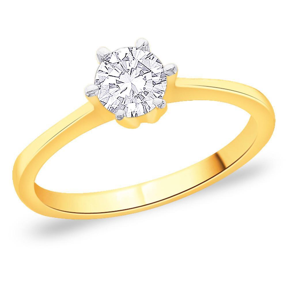 Glowing Solitaire Ring