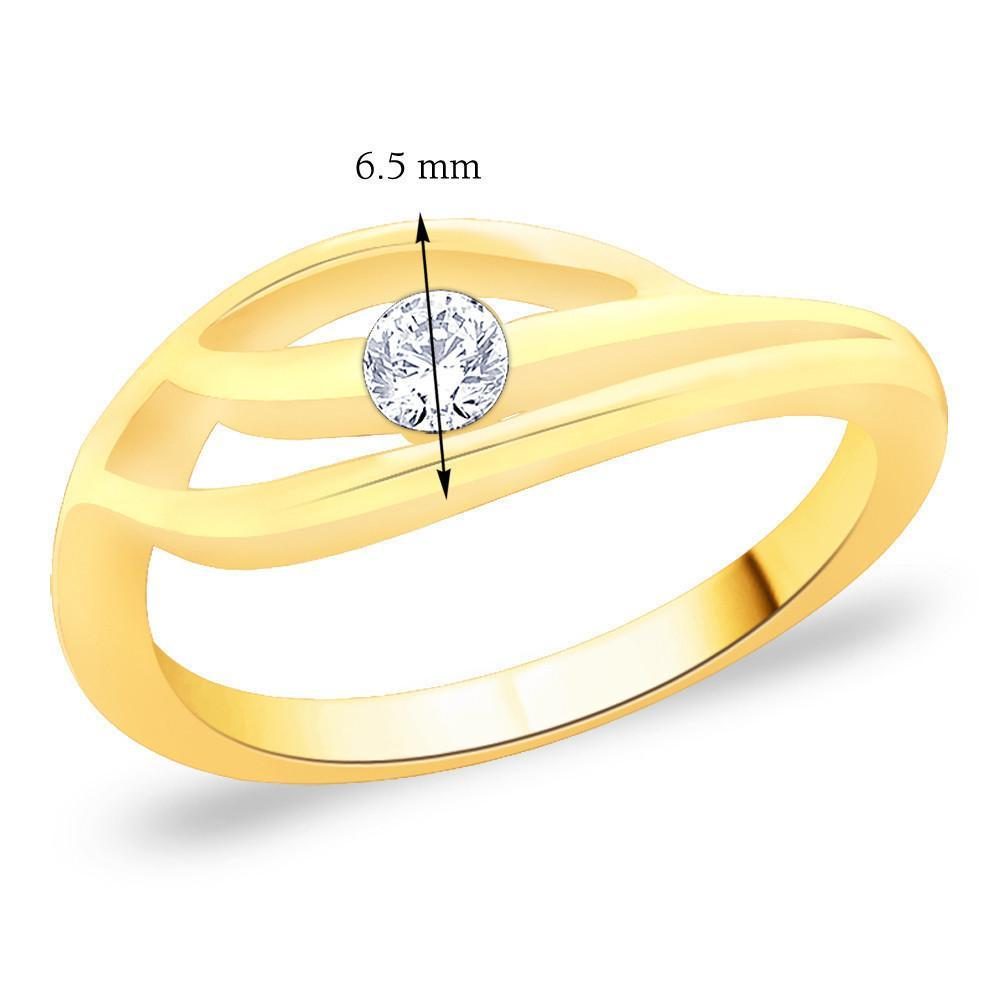 Precious Statement Solitaire Ring