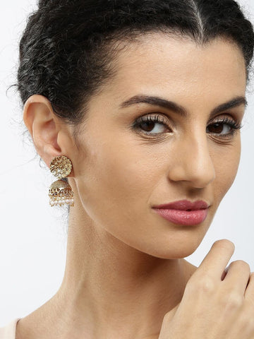 Adorable Indian Jhumki Earrings