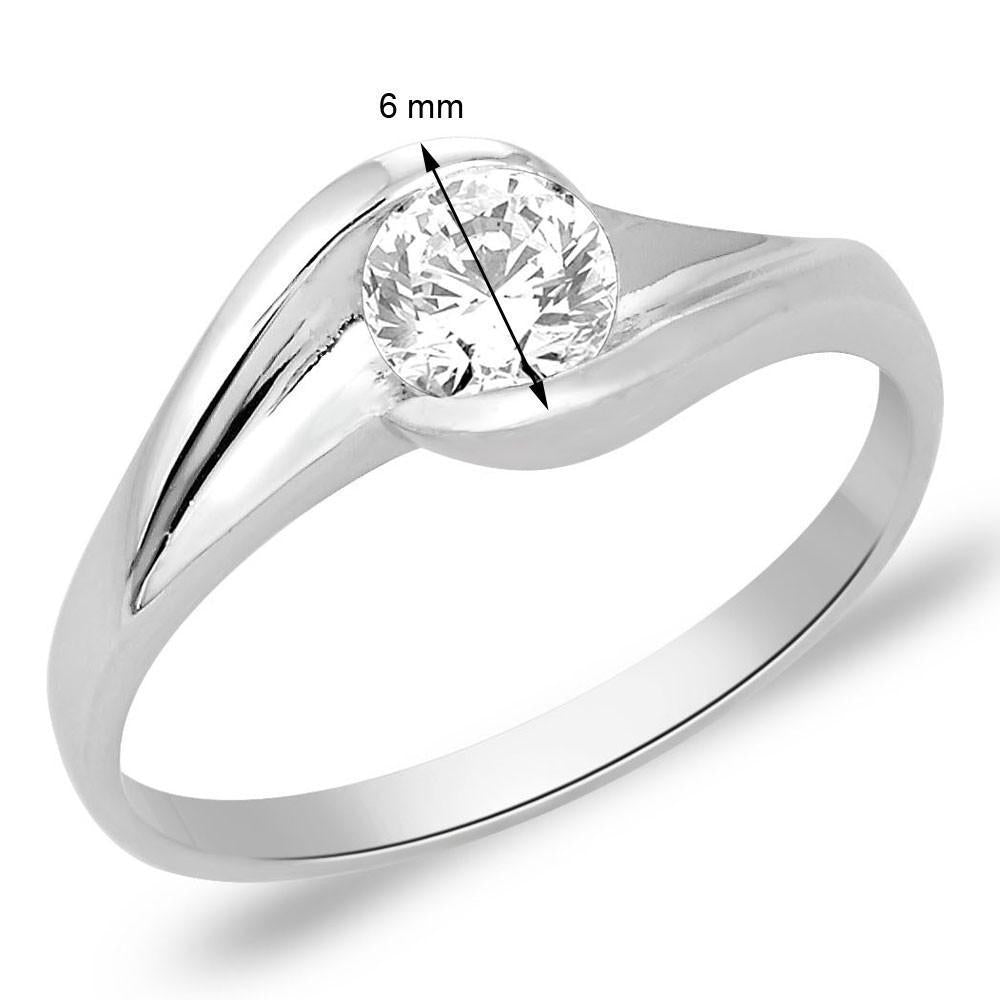 Divine Solitaire Ring