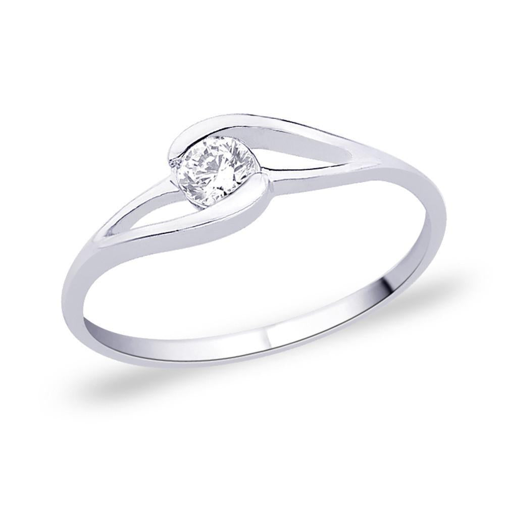 Simple Solitaire Ring