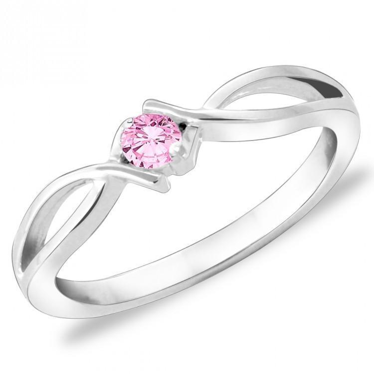 Blush Pink Ring For Party Wear