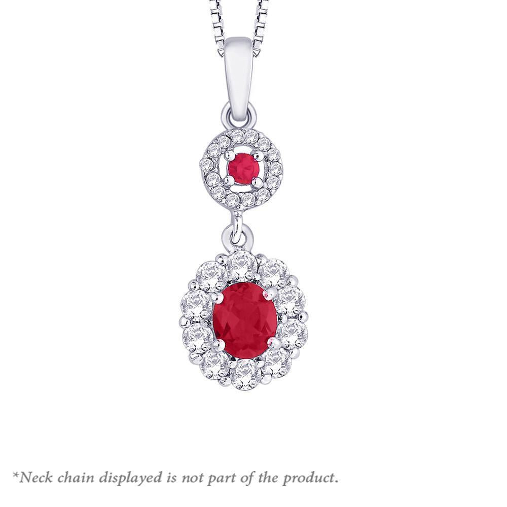 Beautiful Scarlet Pendant