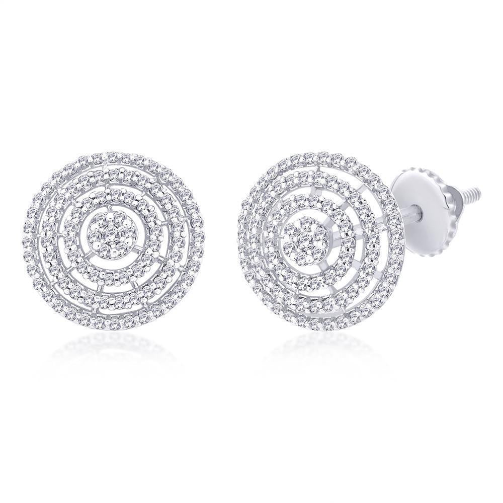 Classic Orbit Studs For Wedding Wear