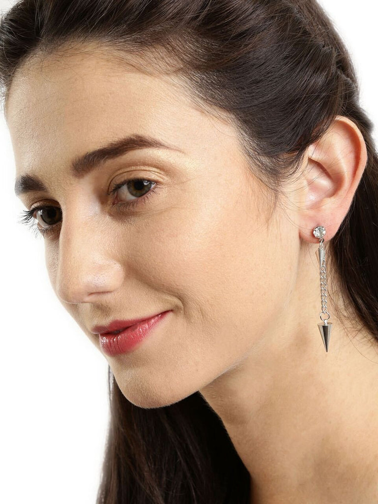 Spikey Drop Earrings