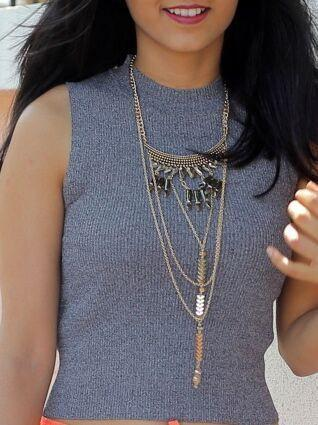 Bohemian Drizzle Necklace