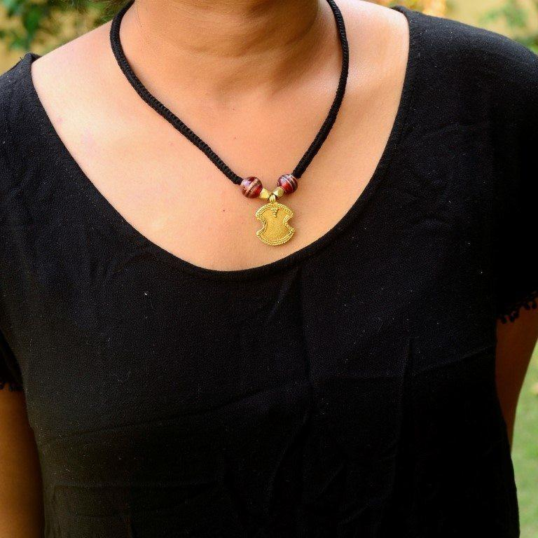 Dhokra Necklace Elegant