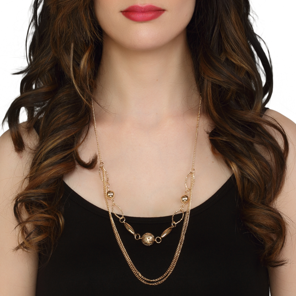 Shapes & Chains Necklace