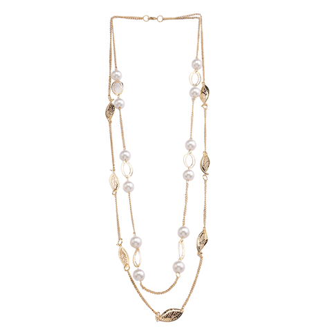 Pearl Foliage Necklace
