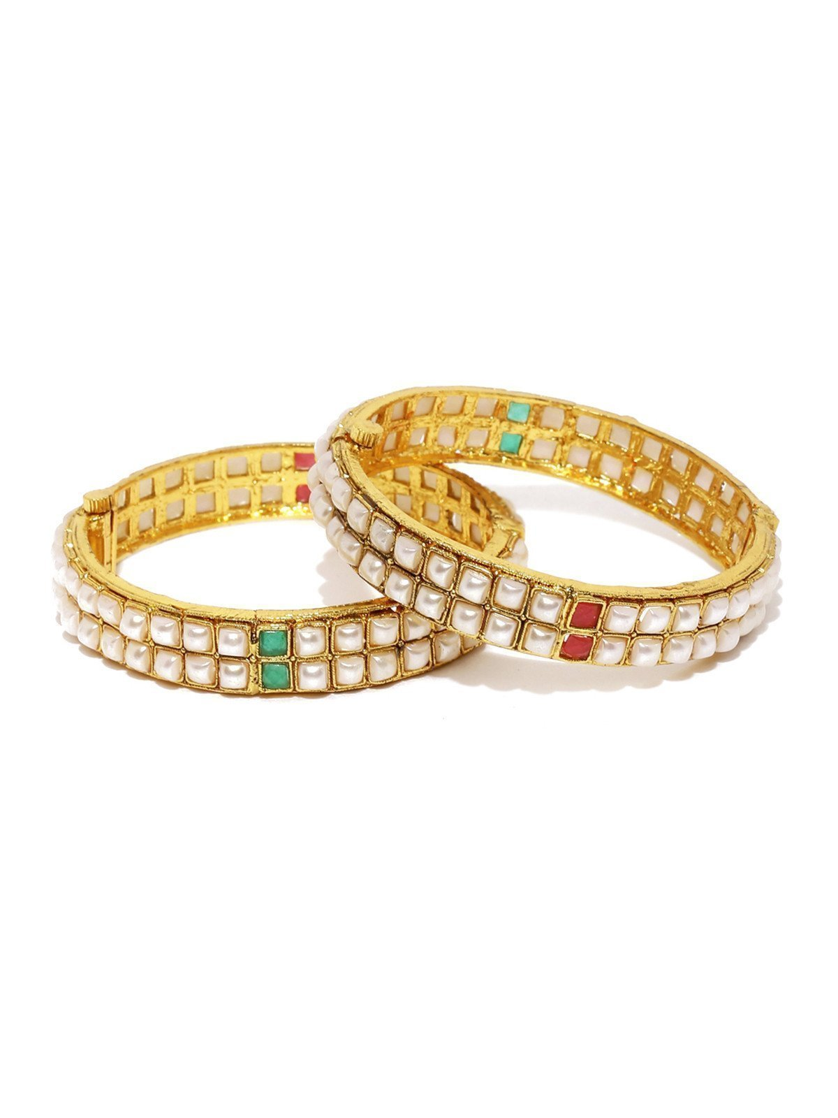 Set Of 2 Mesmerising Openable Bangles
