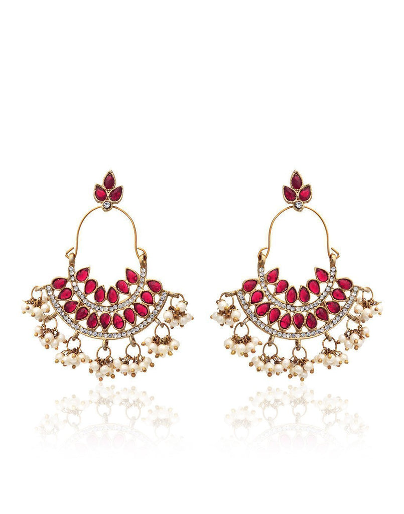 Set Of Two Ethnic Earrings - Zpfk6020