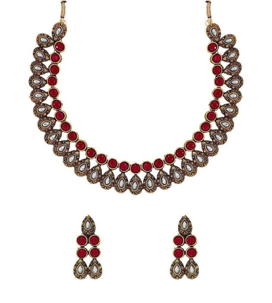 Traditional Necklace Set - Zpfk6129