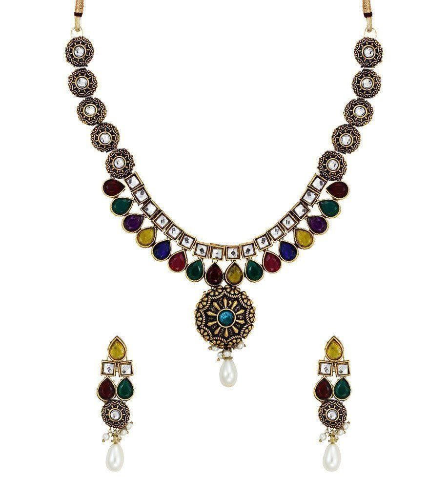 Traditional Necklace Set - Zpfk6131