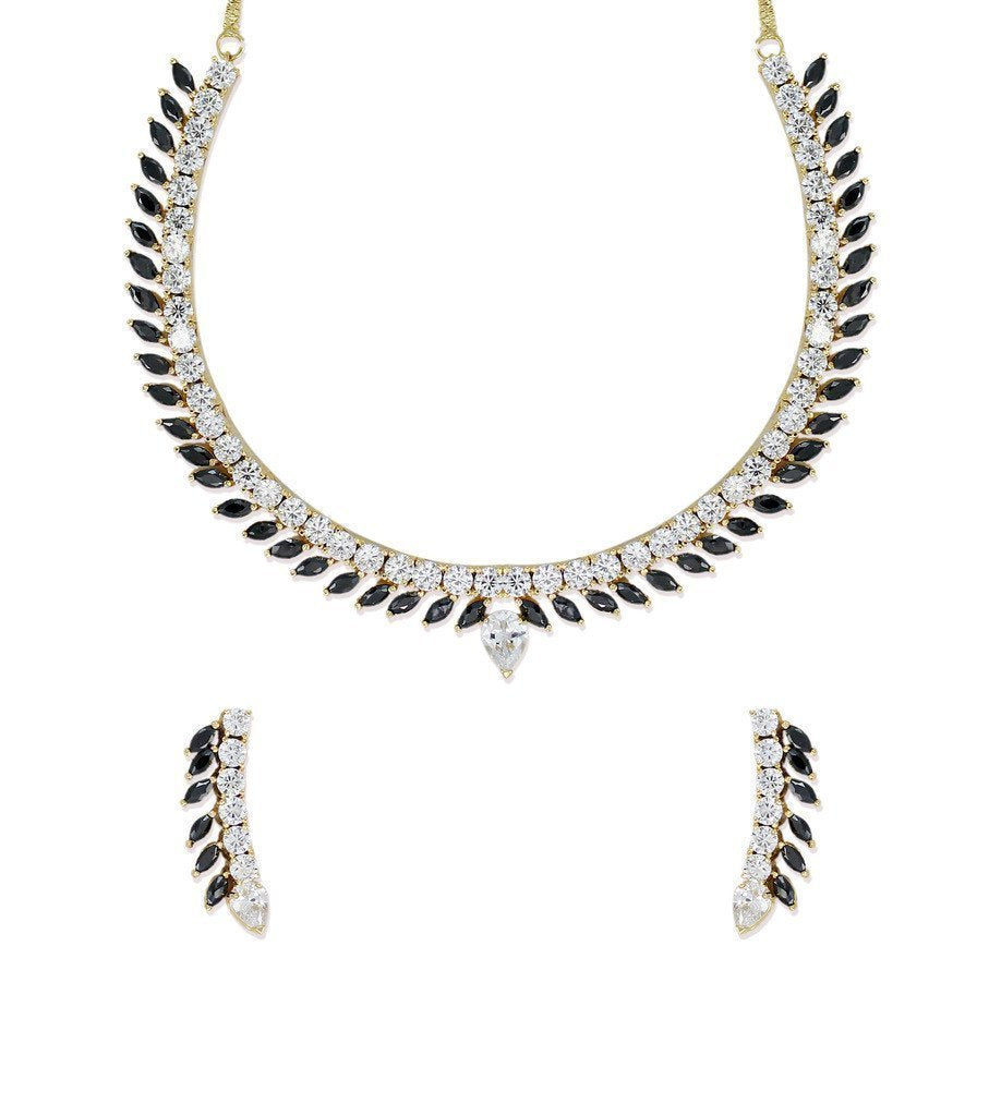 Zaveri Pearls Shimmering Necklace Set - Zpfk6212