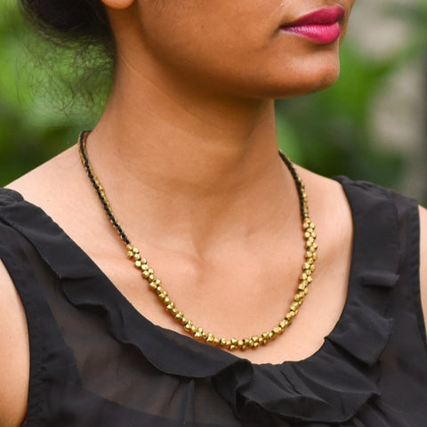Dhokra Necklace Classic