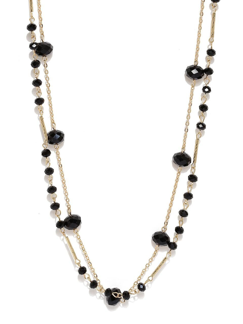 Black Get It All Necklace