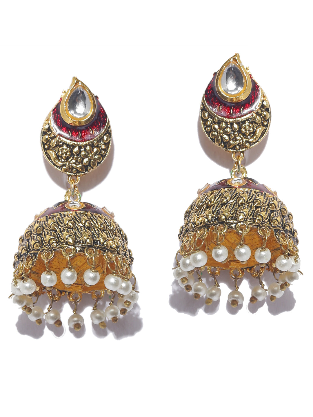 High quality Contemporary Jhumka Earring-ARADHYAA JEWEL ARTS1-Earring