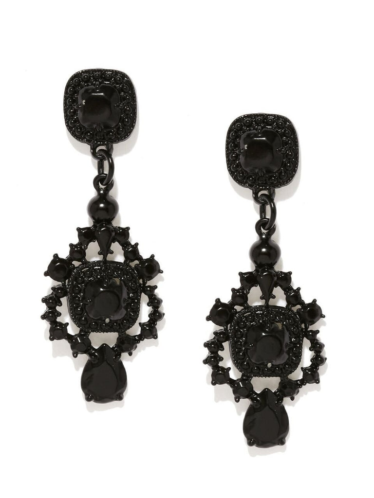 Black Victorian Earrings