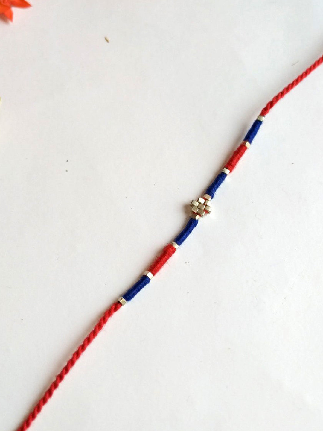 Pital Rakhi Combo Blue And Red-KALAGHAR1-Rakhi