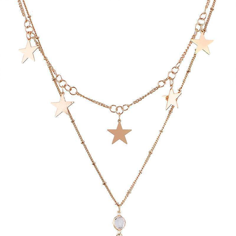 Starry Link Necklace
