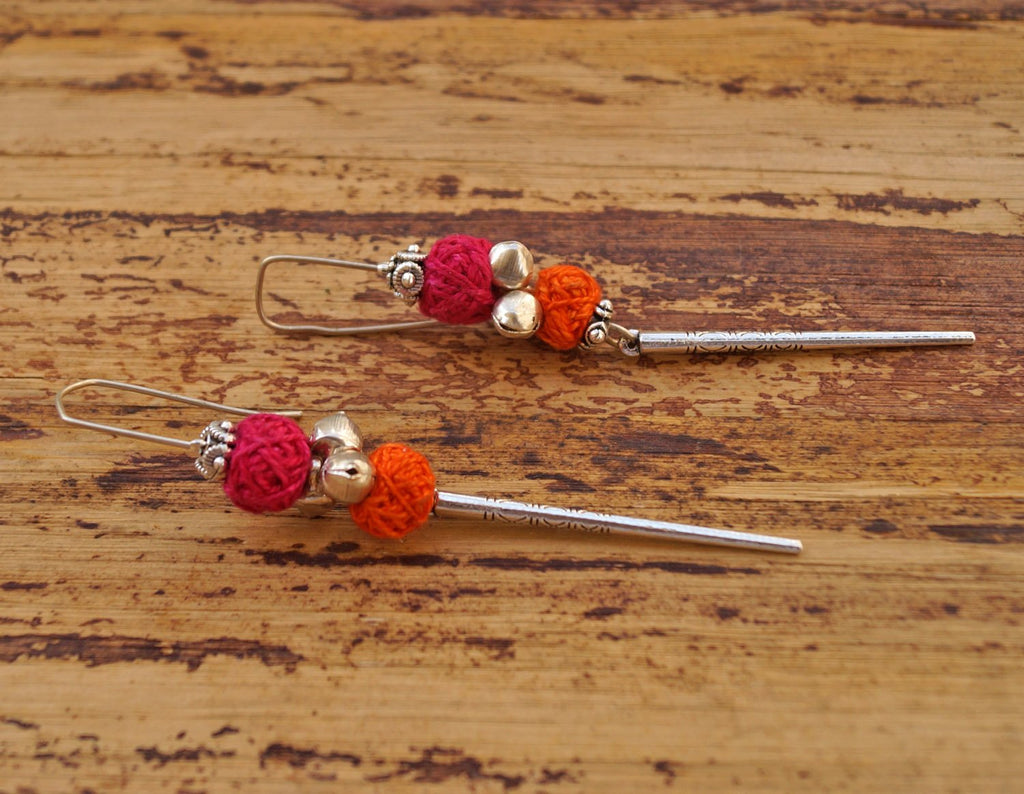 Colorful Story Pink Earring
