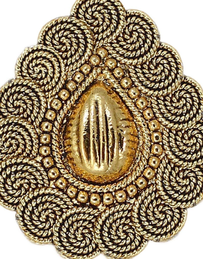 Gold Filigree Traditional Ring