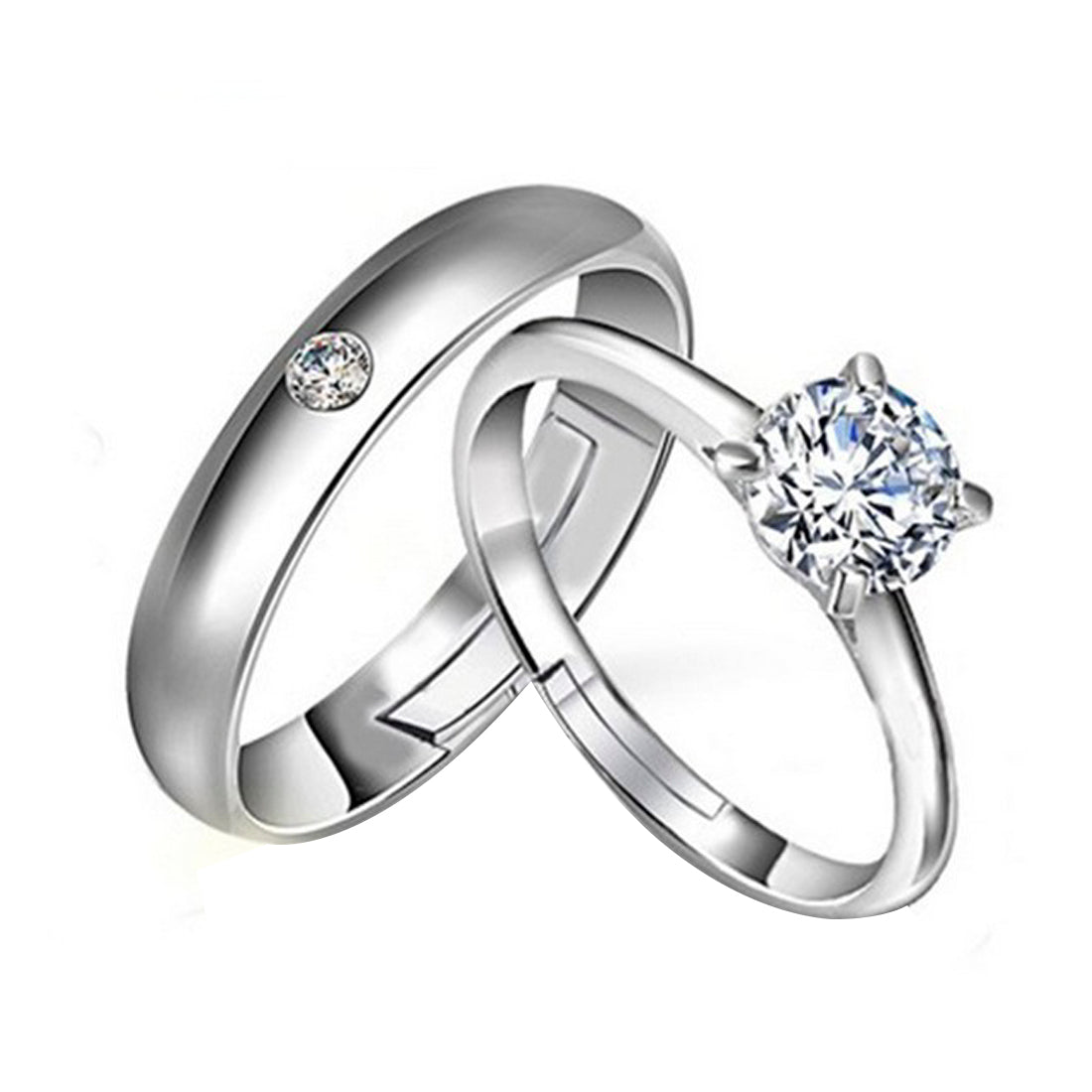 Forever Love Couple Ring-THE BLING STORES1-Finger Ring