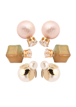 Double Trouble Earring Set -1