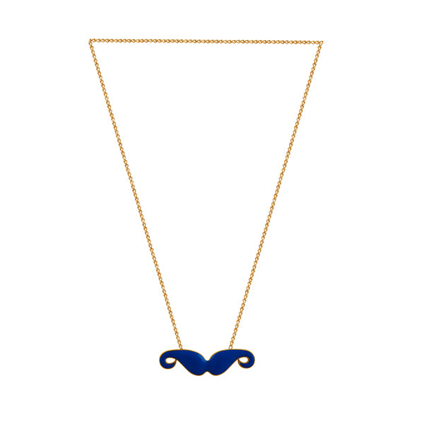 Trendy Moustache Pendant Necklace