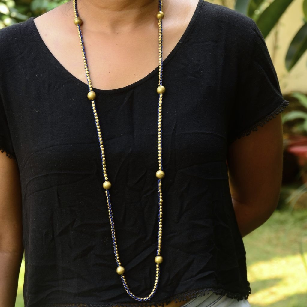Dhokra Necklace Long