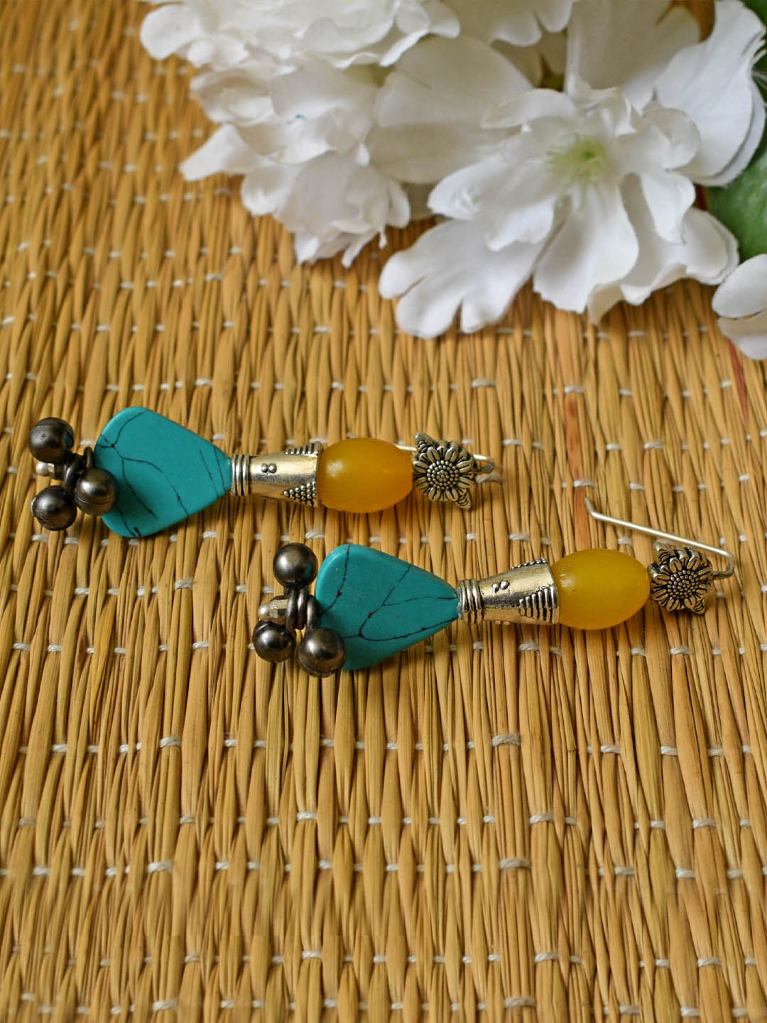 Tribal Dangler Earring-ANETRA1-Earring