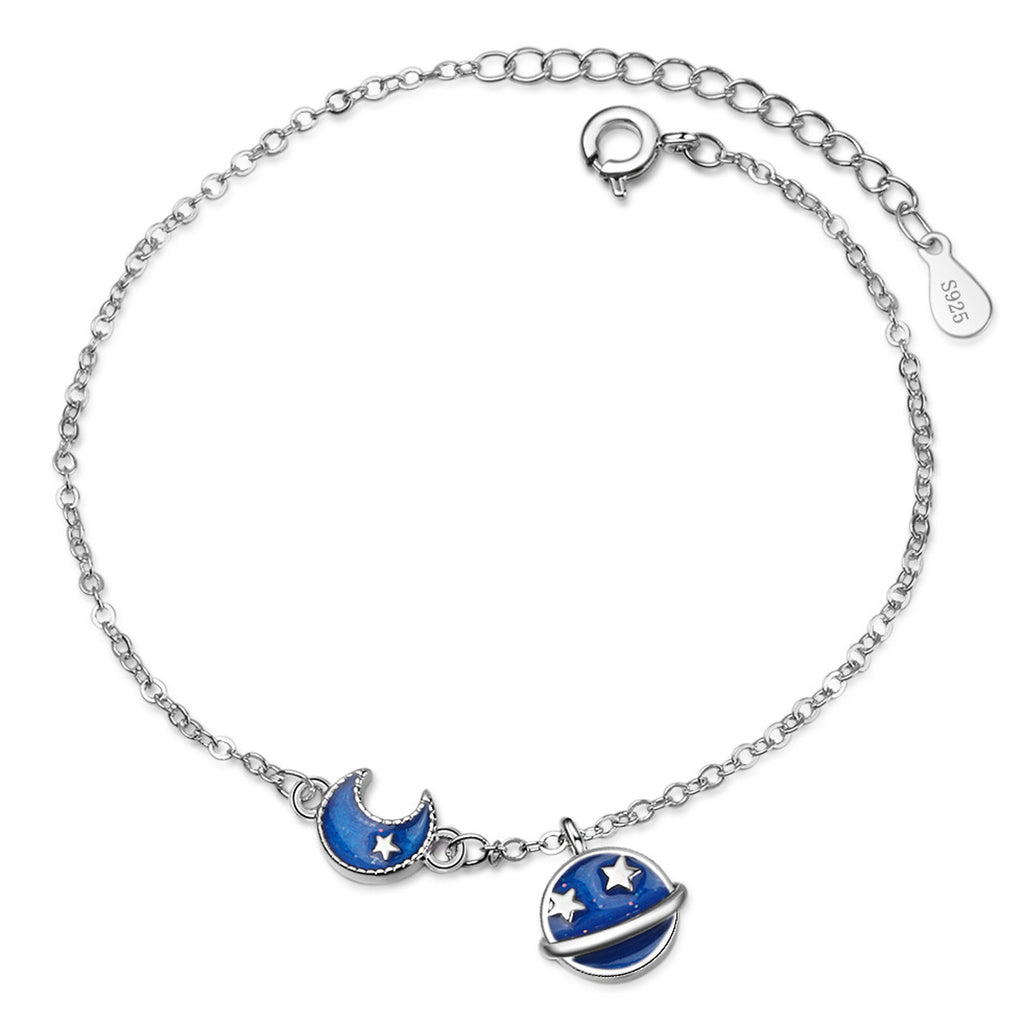 Sukkhi Attractive Adjustable Blue Meenakari kari Rhodium Plated Bracelet for Women-SUKKHI1-Bracelet
