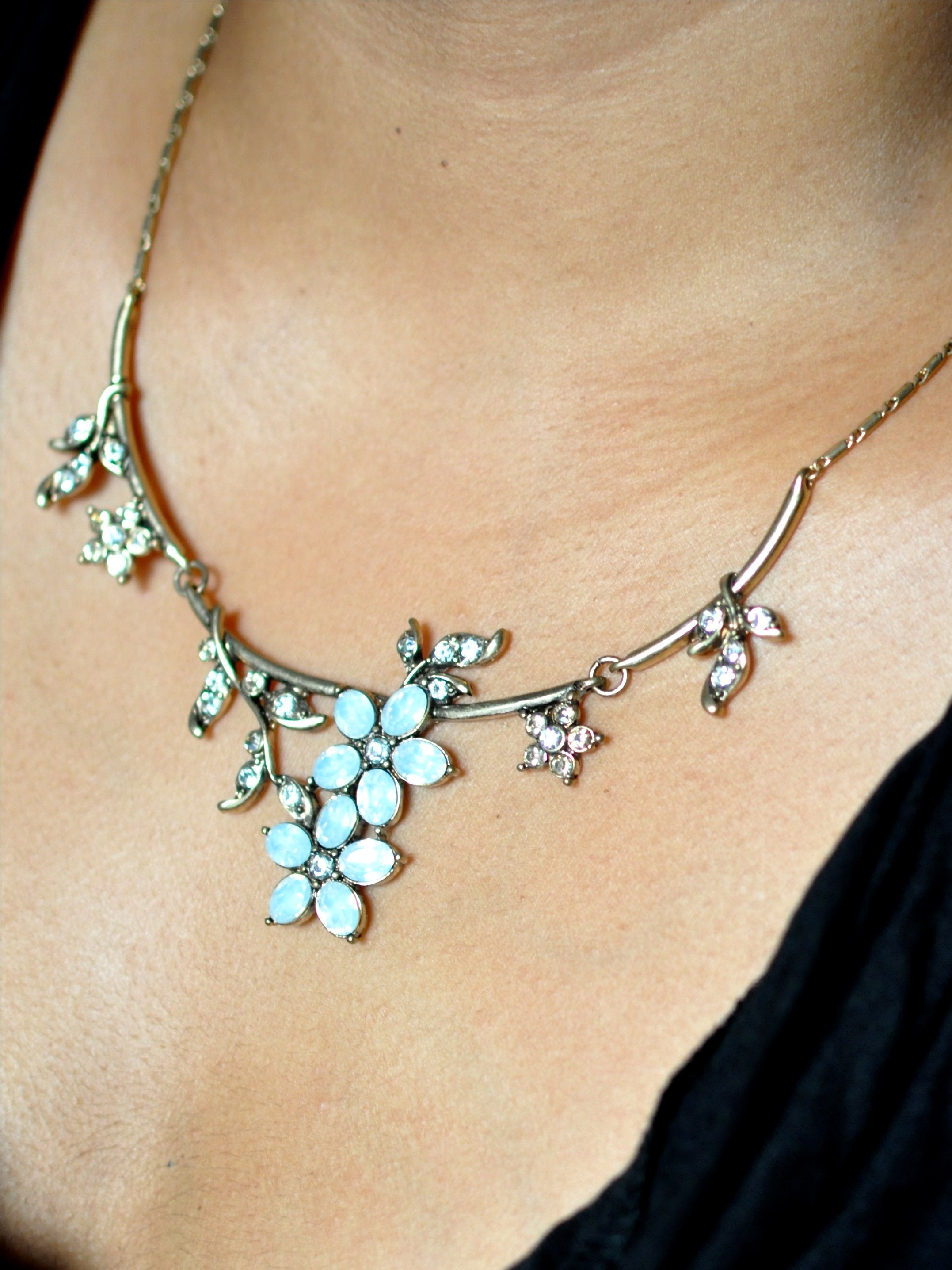 Misty Floral Necklace